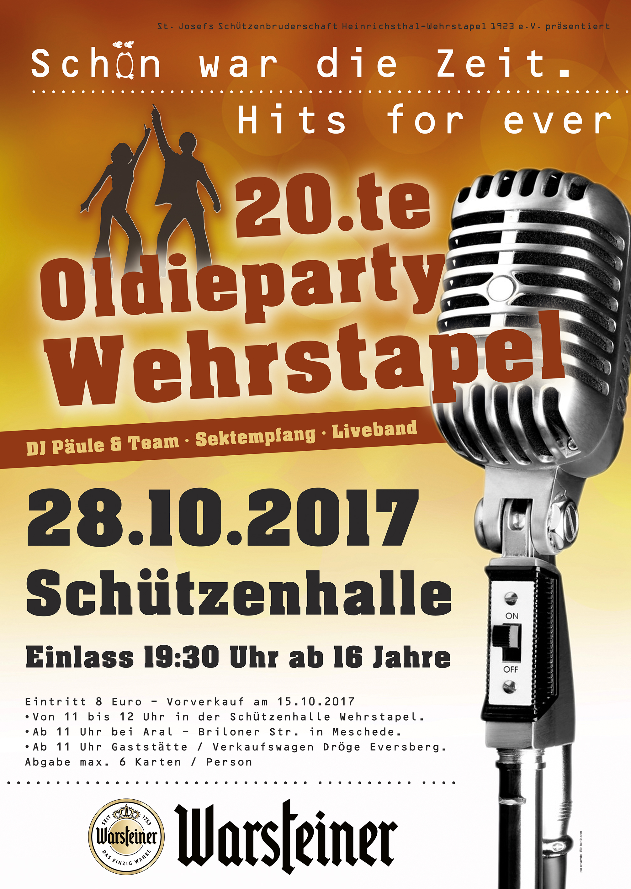 20. Oldiefete am 28.10.2017
